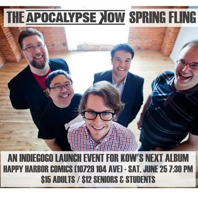 Doing anything this Saturday? Come to our Indiegogo kickoff forhellip